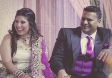 Reema + Ashish Reception at Grand Victorian Radisson Plaza : Indian wedding video